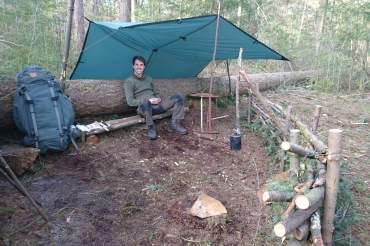 Gastblog: Wildkamperen met BushcraftNic