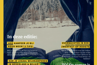 Gratis online magazine 'wildkamperen': editie 3 is uit!