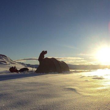 Gastblog: winterkamperen op de Hardangervidda