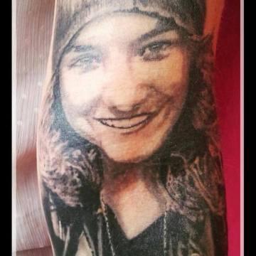 Wild Spirit Tattoo Portrait