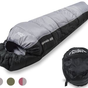 Andes Nevado 400 4 Season 400 XL Camping Hiking Mummy Sleeping Bag - image  on https://www.wild-survivor.co.uk