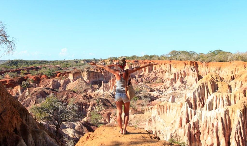 About me - Svenja im Canyon