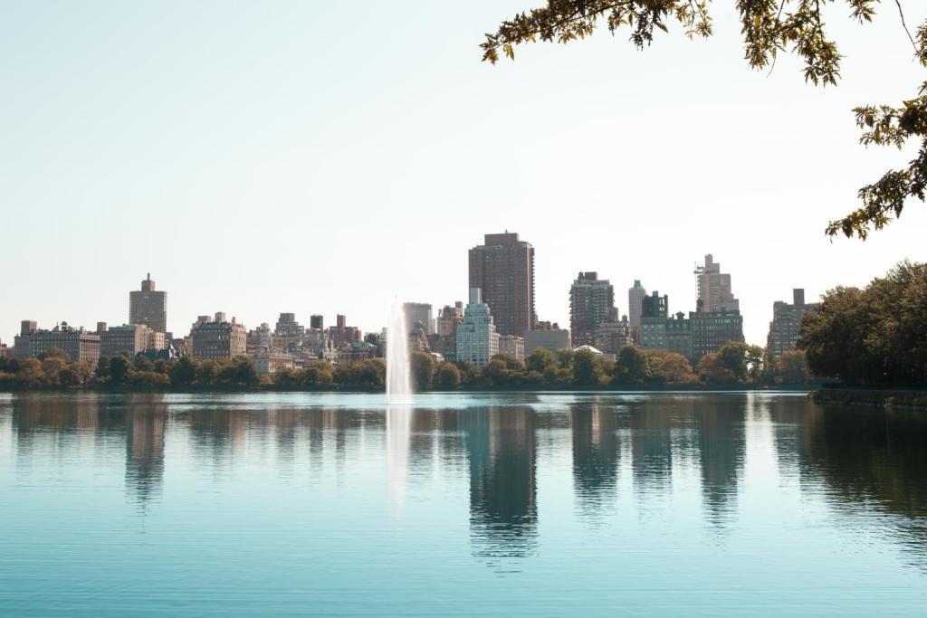 Central Park New York City Skyline