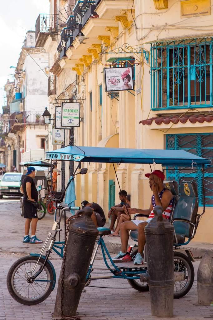 Kuba Fahrrad Rikscha