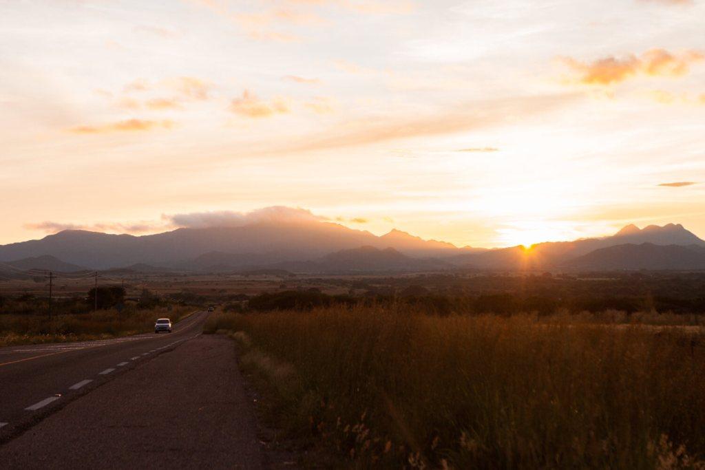 Sonnenuntergang in Mexiko
