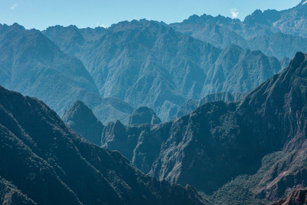Berge Peru