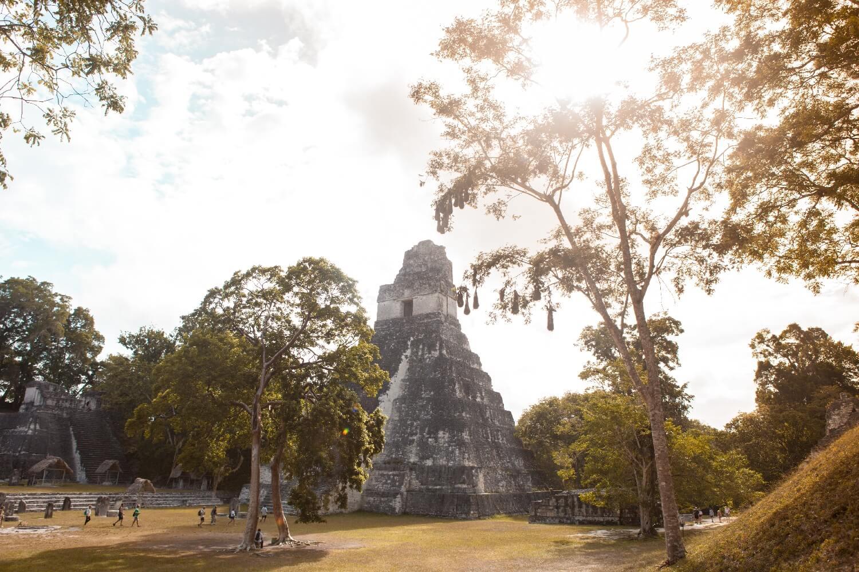 Auswandern Guatemala Tikal
