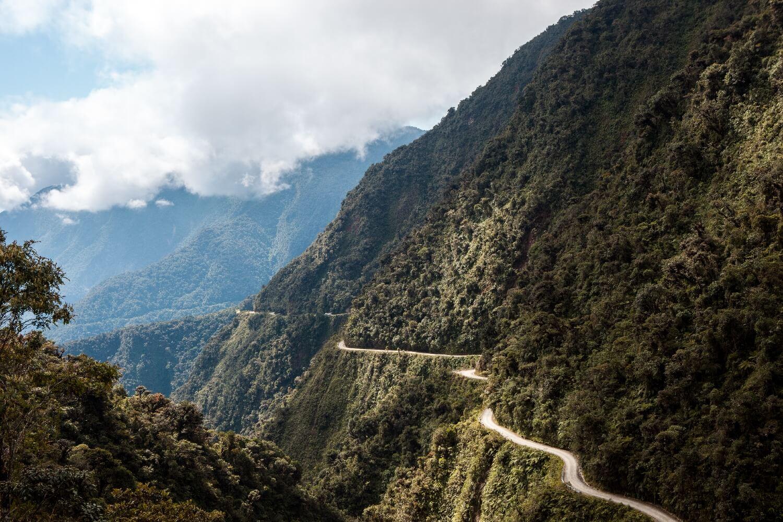 Deathroad Bolivien