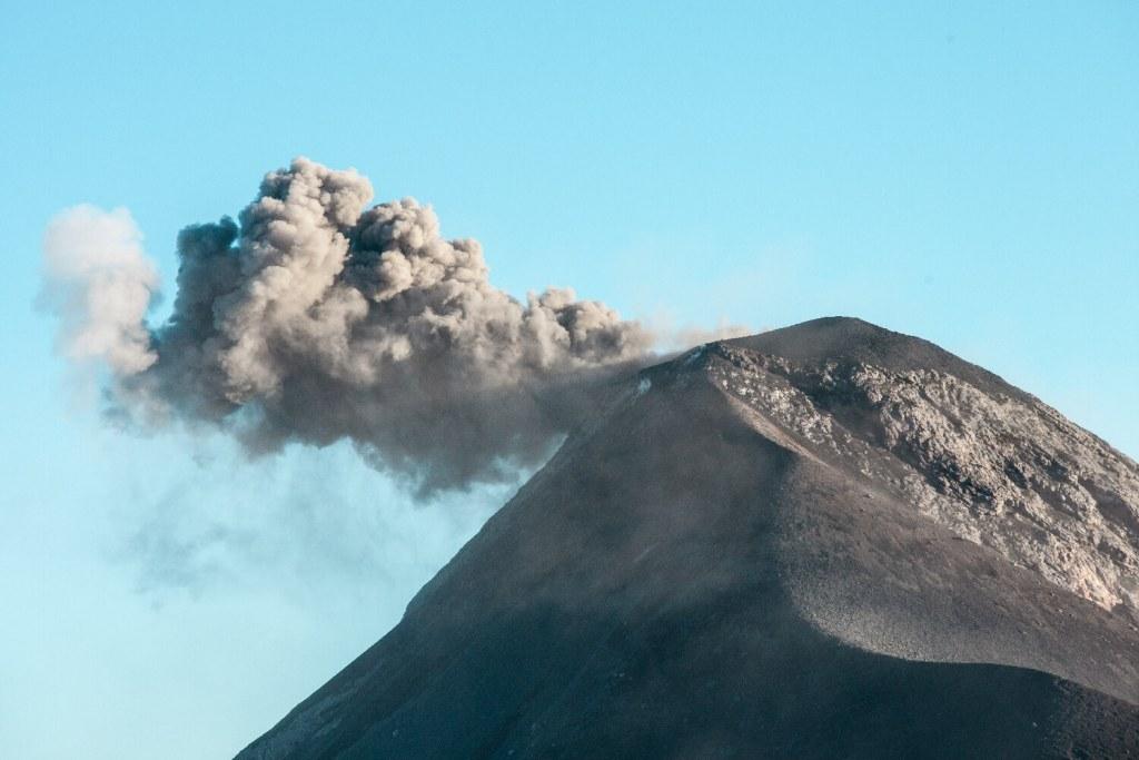 Auswandern Guatemala Vulkan
