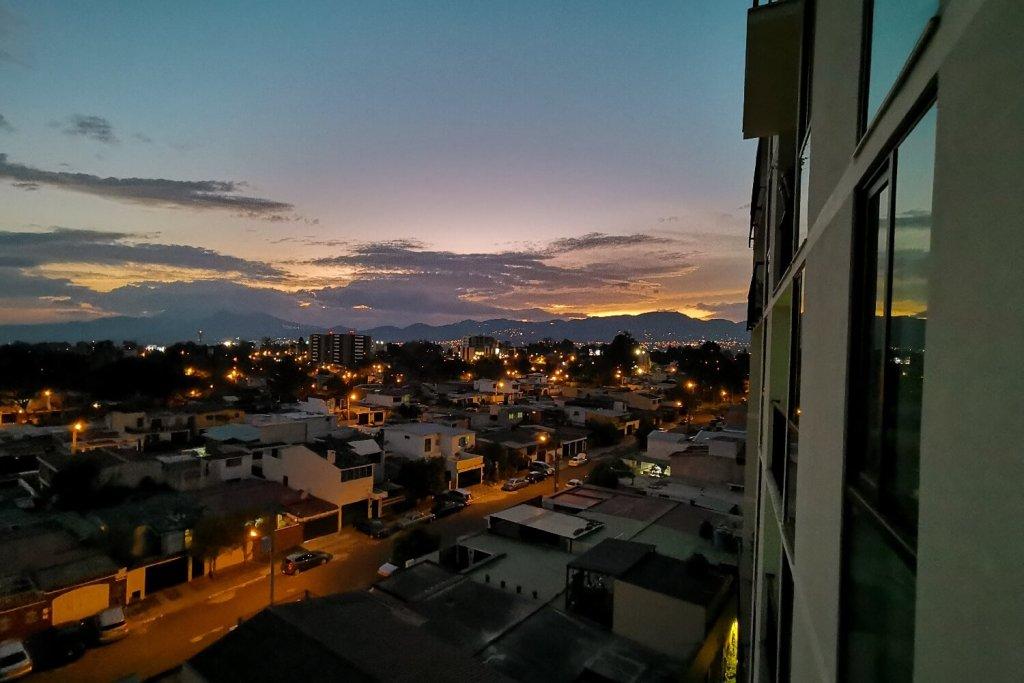 Sonnenuntergang AirBnB