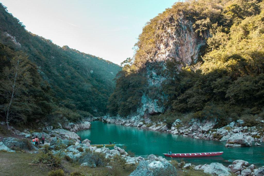 Huasteca Potosina Fluss
