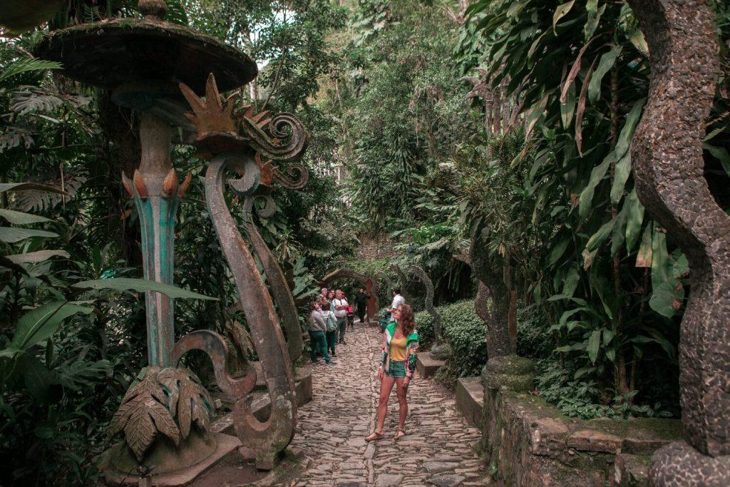 Las Pozas Xilitla Eingangsbereich