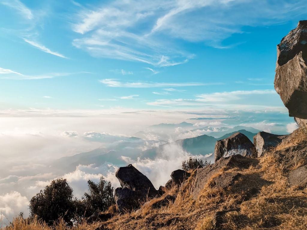 Ausblick aufs Wolkenmeer