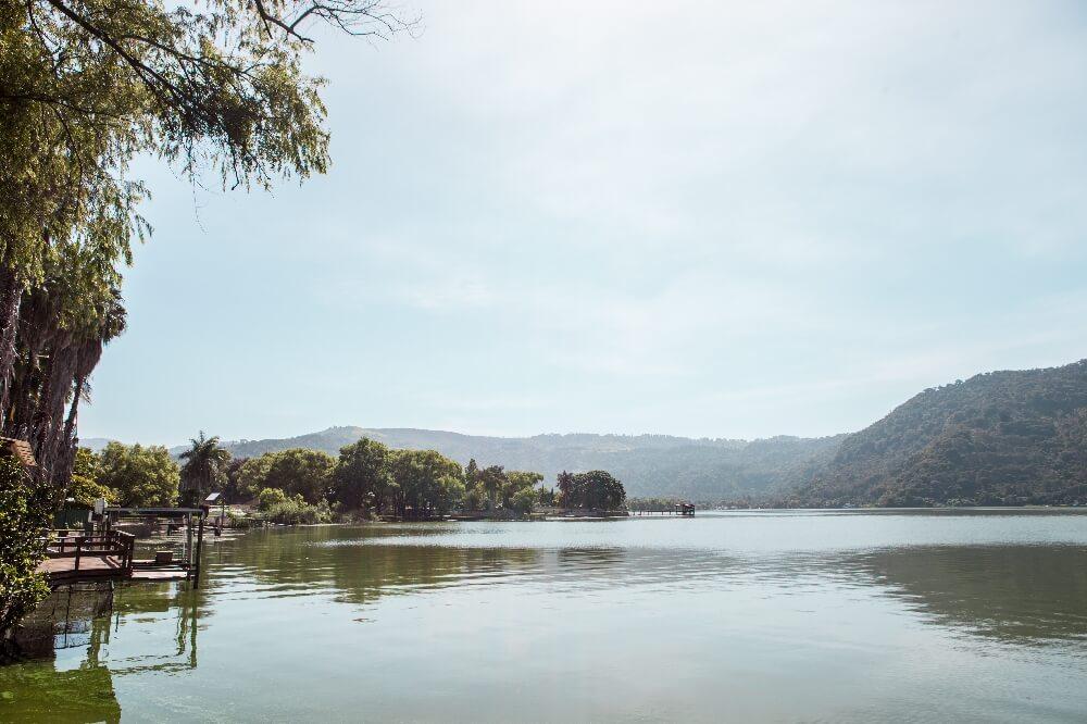 Lago Amatitlan in Guatemala