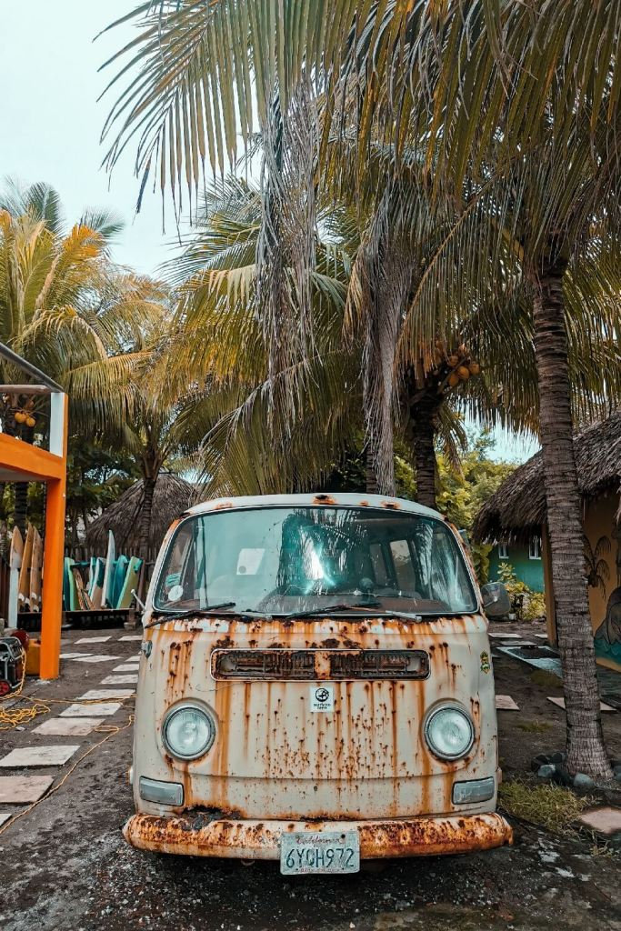 1,5 Jahre in Guatemala alter VW Bus