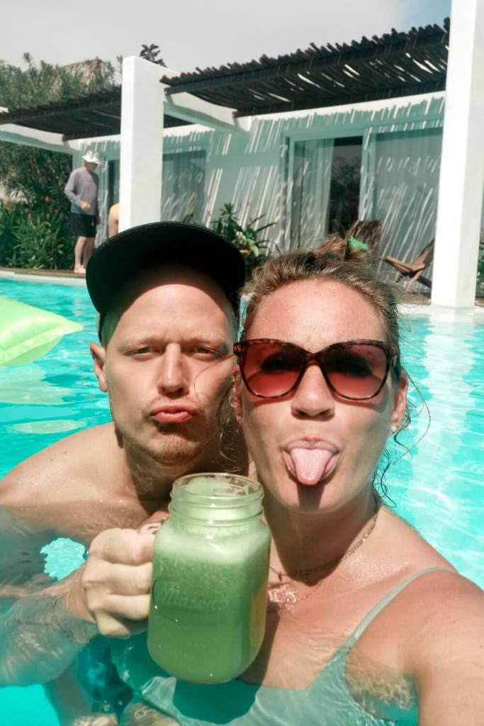 1,5 Jahre in Guatemala Pooltime