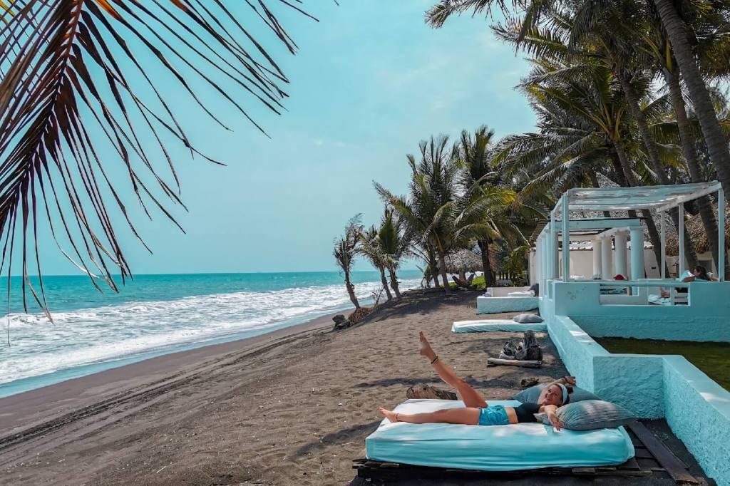 Auswandern Guatemala Beachday