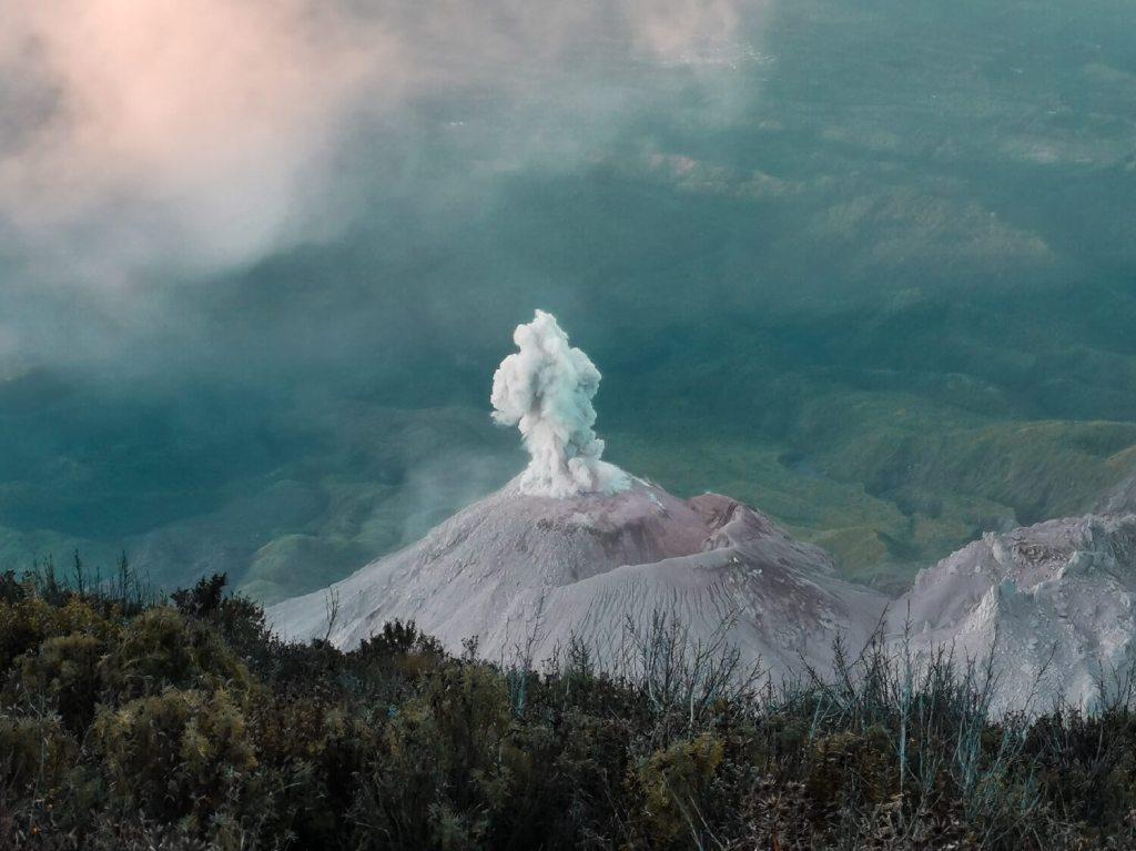 Auswandern Guatemala Vulkantour
