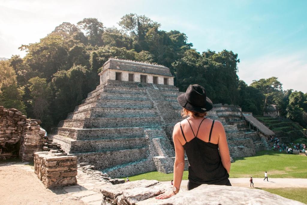 Svenja in Palenque