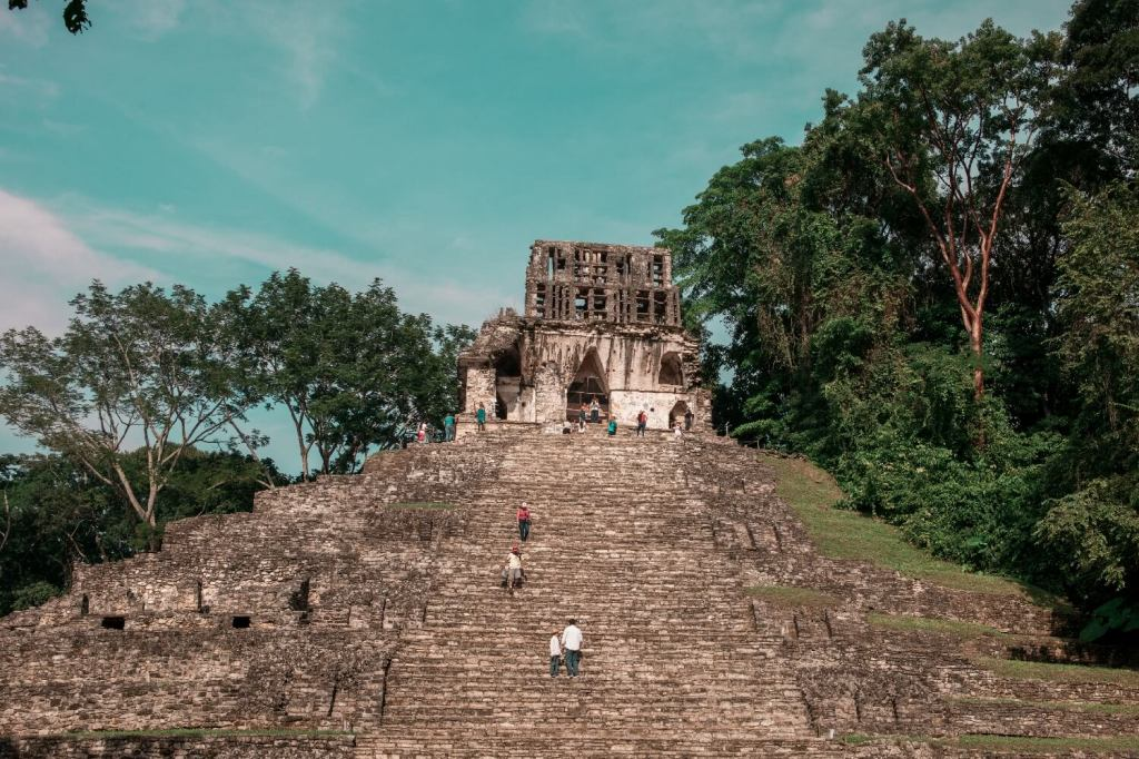 Sonnentempel Palenque in Mexiko