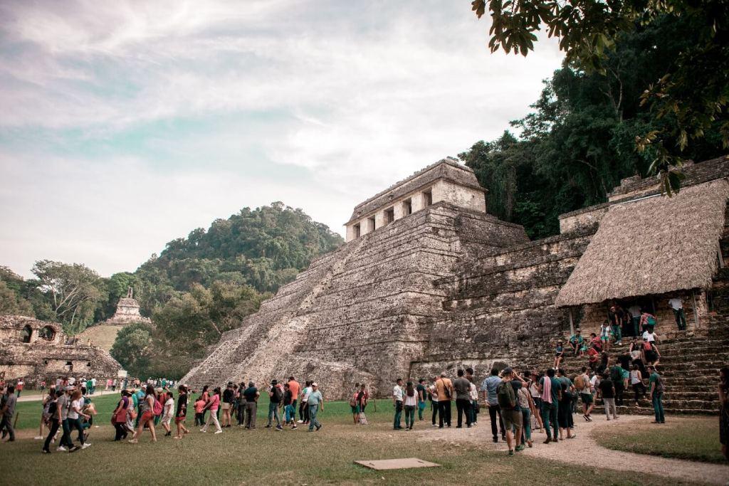 Pyramiden in Palenque