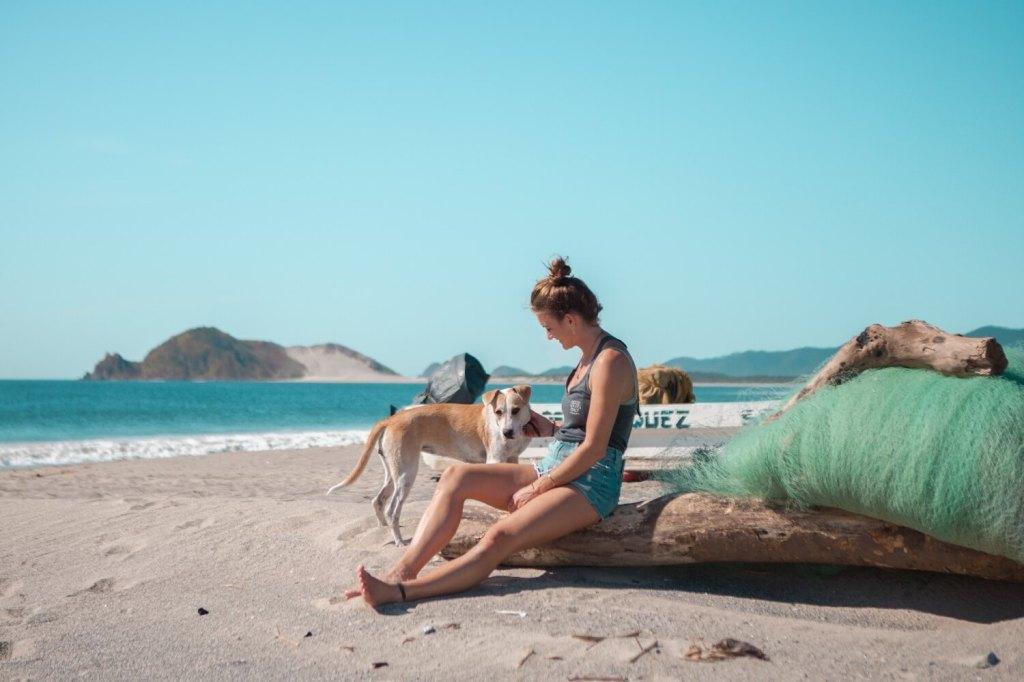 Strände von Oaxaca Svenja