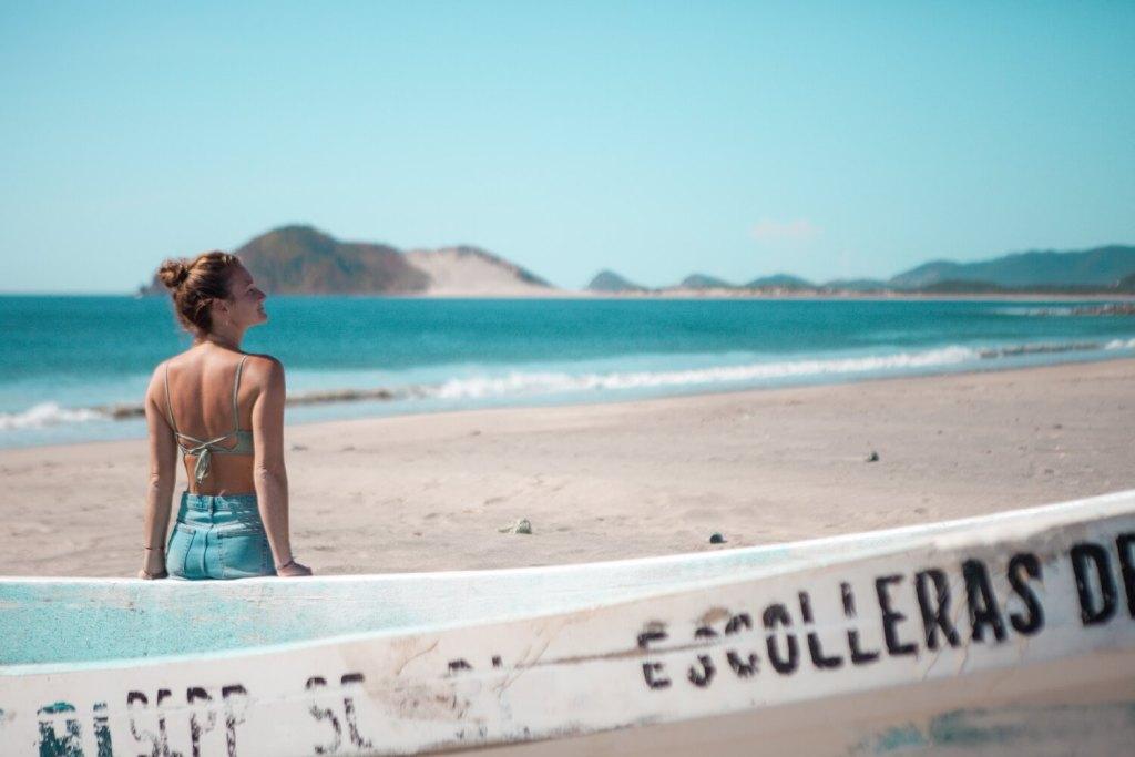 Strände von Oaxaca Boot