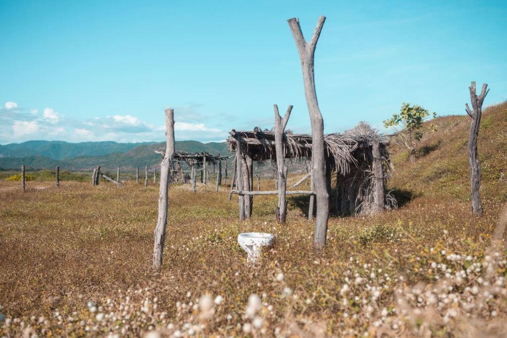 Strände von Oaxaca Toilette