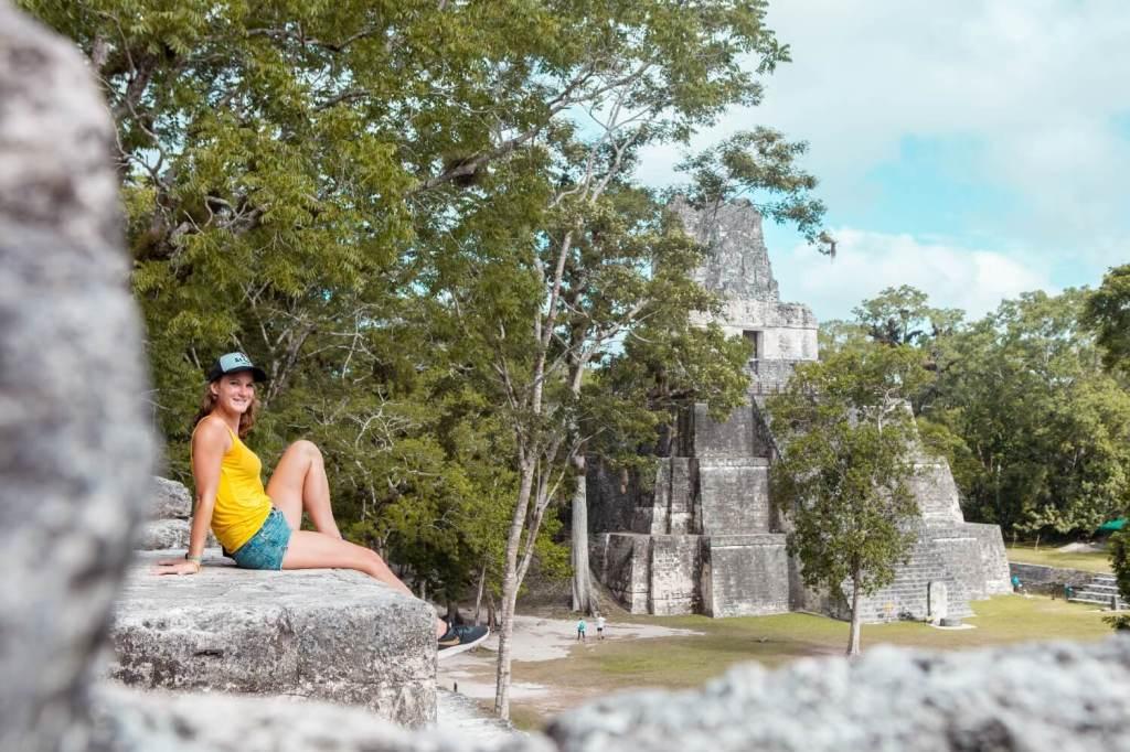 Tikal in Guatemala Svenja