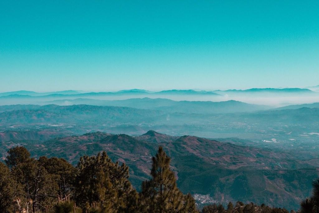 Tolle Aussicht auf den Vulkan Acatenango