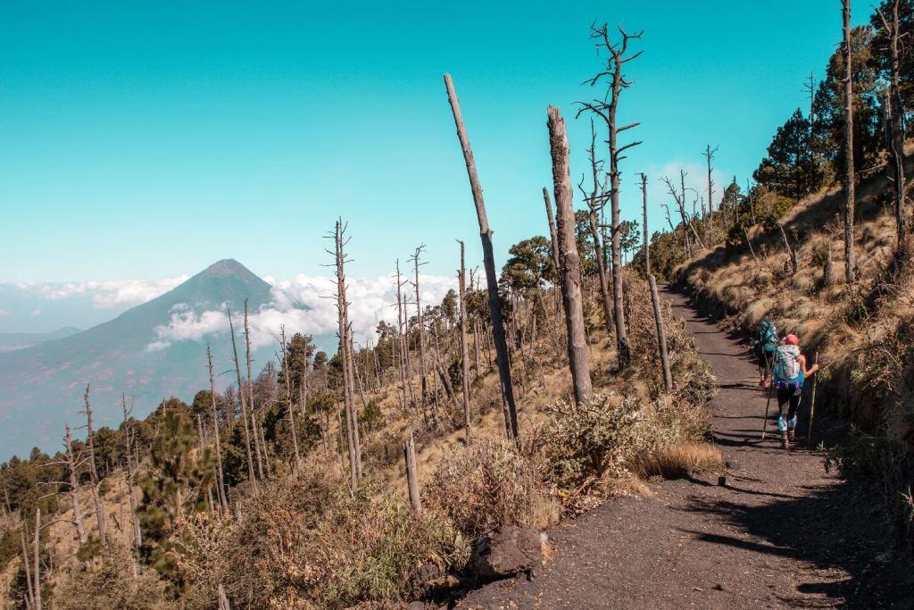 Vulkan Acatenango Ausblicke