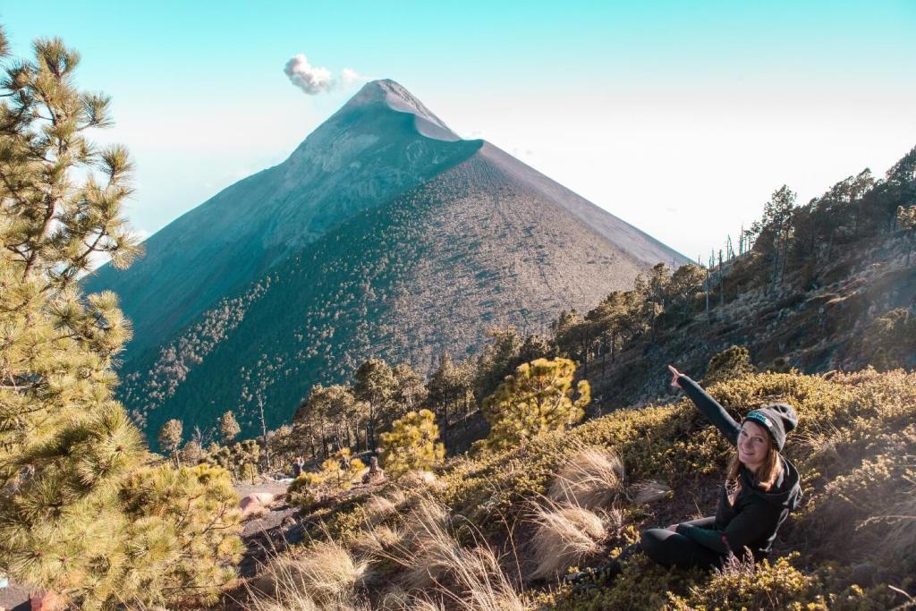 Vulkan Acatenango Perspektive