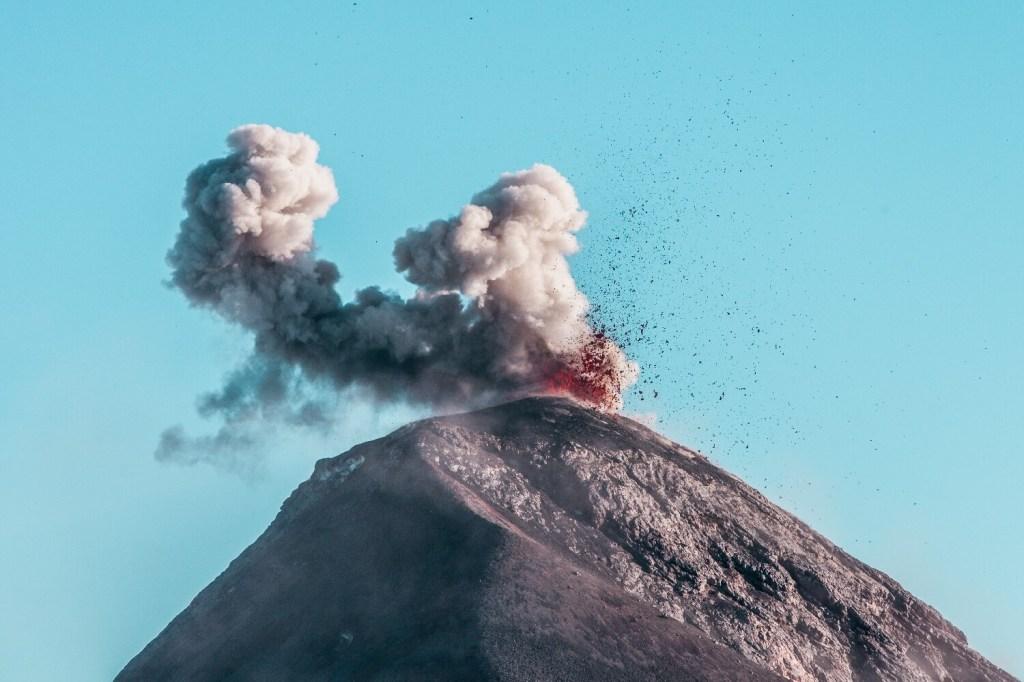 Vulkanausbruch Fuego Titelbild