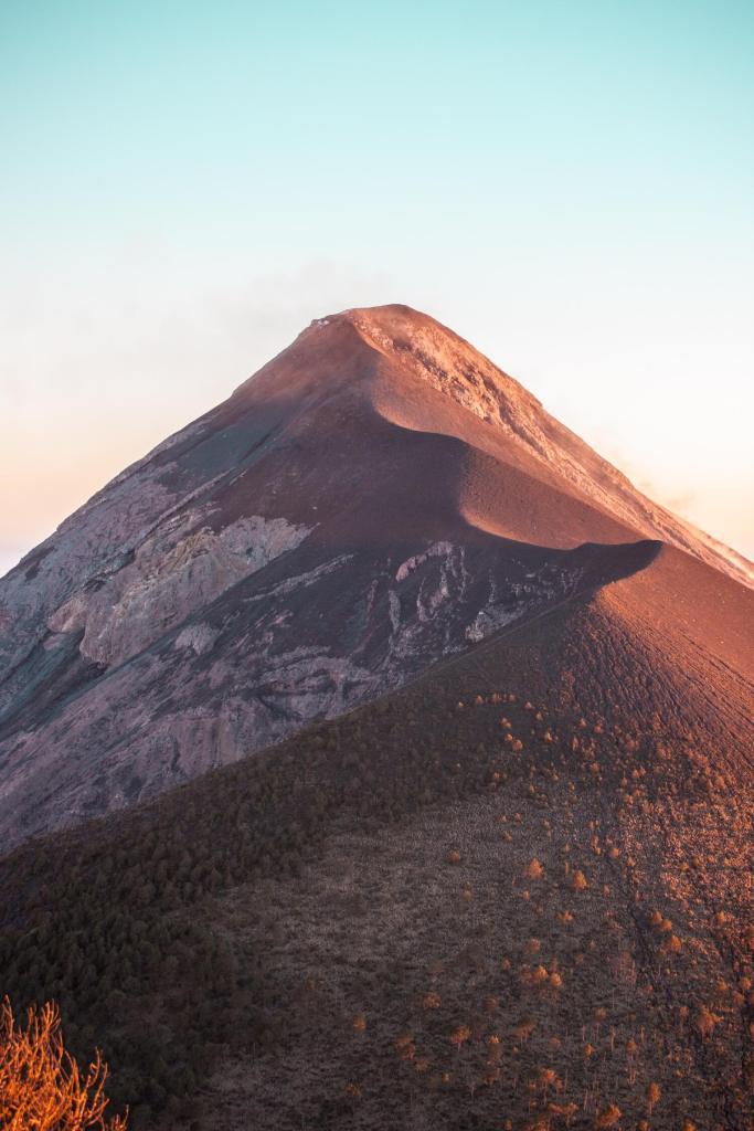 Foto vom Vulkan Fuego in Guatemala