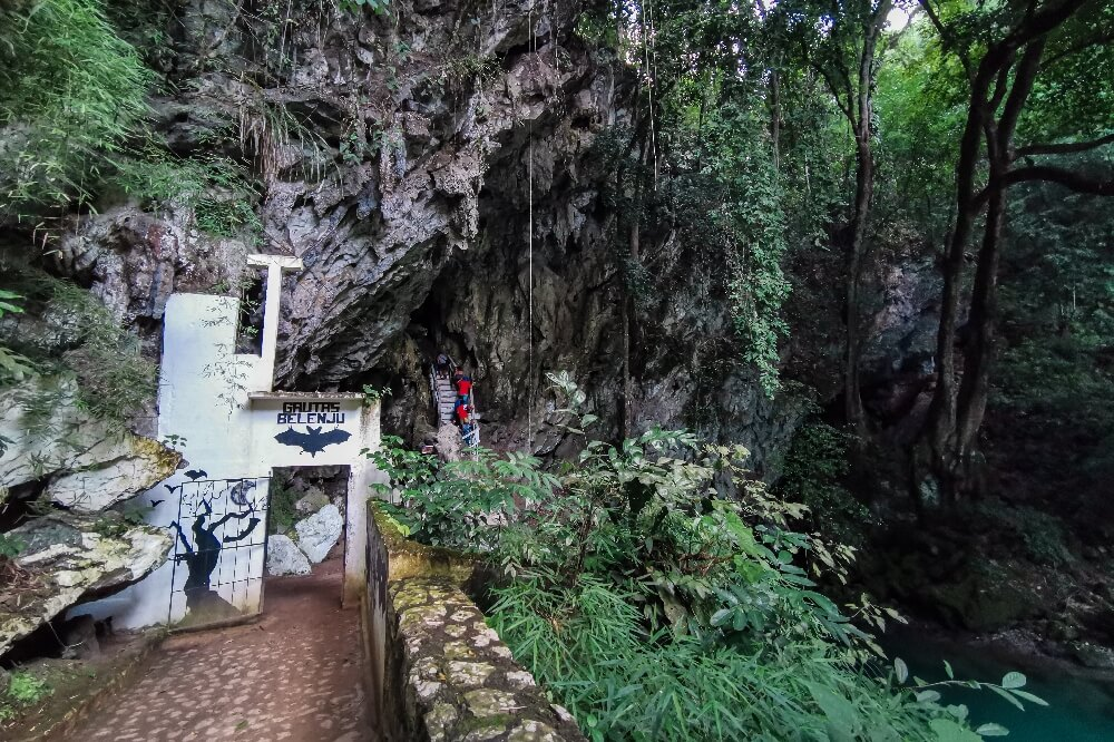 Fledermaushöhle in Lanquin
