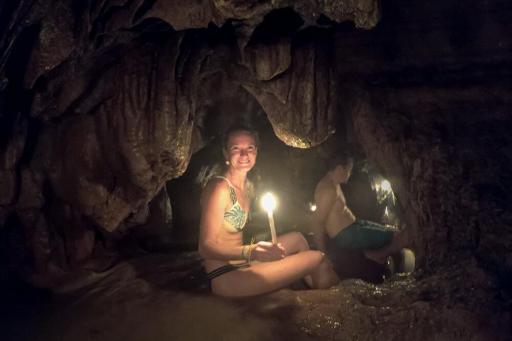 Wasserhöhle in Semuc Champey