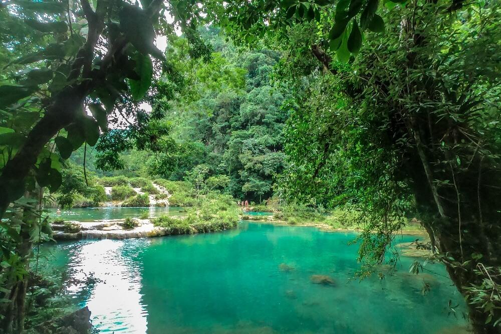 Semuc Champey Wasserbecken