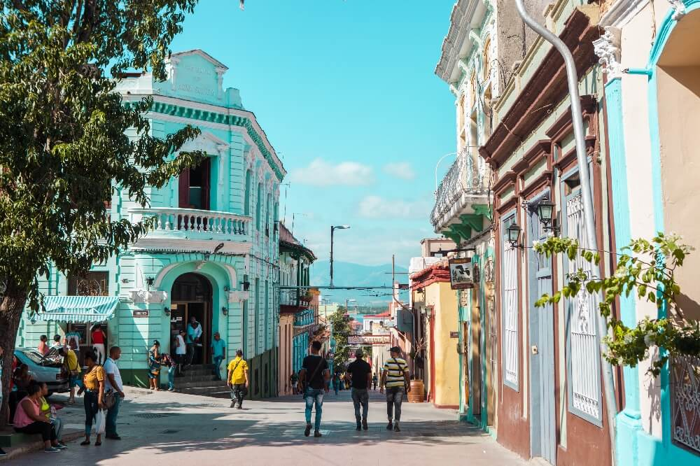 Einkaufsstraße Santiago de Cuba