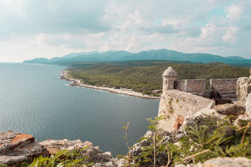 Castillo el Morro Santiago de Cuba Aussicht