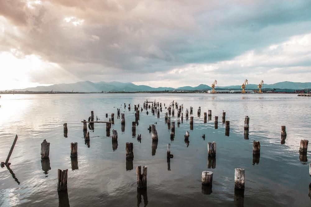 Hafen von Santiago