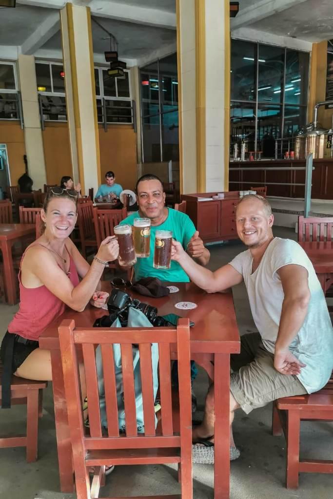 kubanische Brauerei