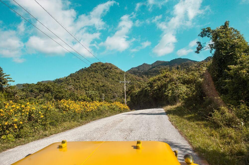 Straße Trinidad
