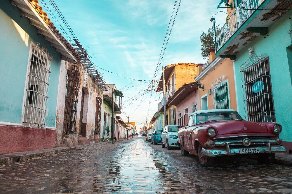 Streets of Trinidad in Kuba