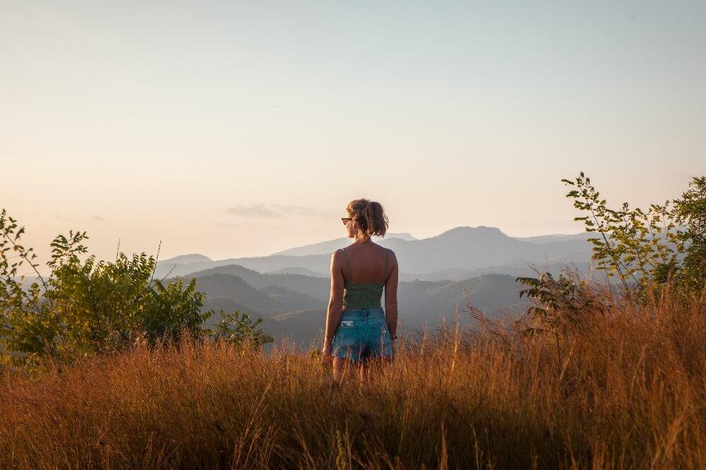 Cerro de la Vigía Trinidad in Kuba
