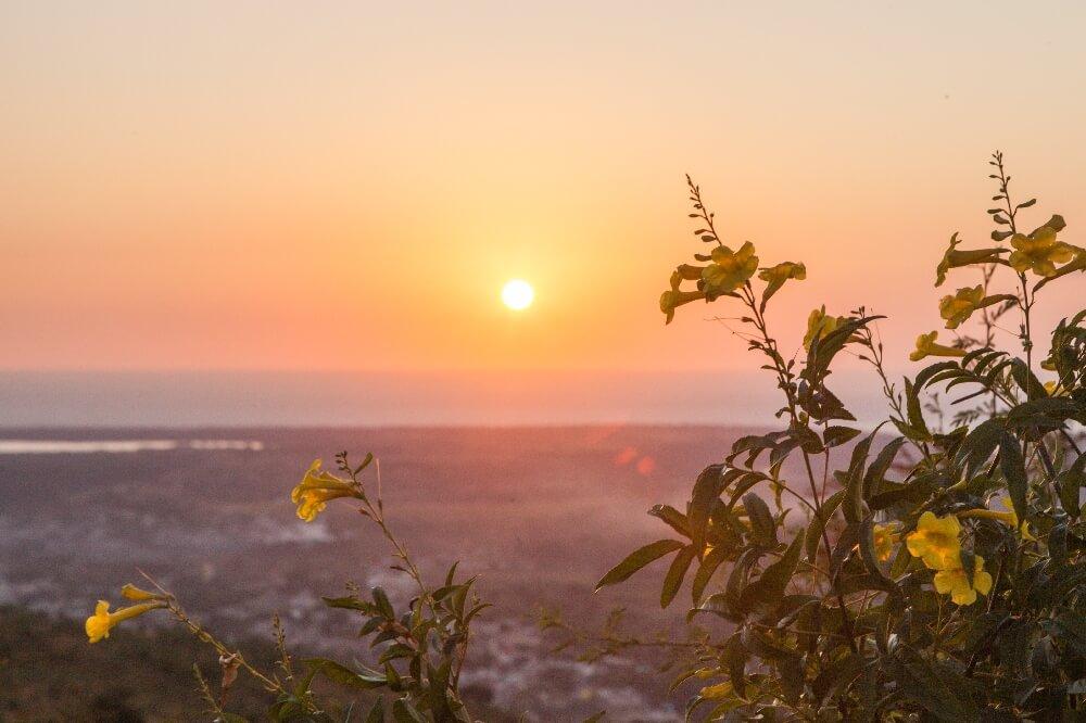 Sonnenuntergang Cerro de la Vigía