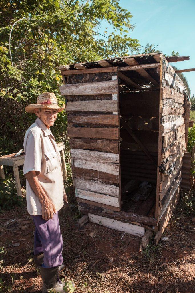 Toilette vom Farmerhaus
