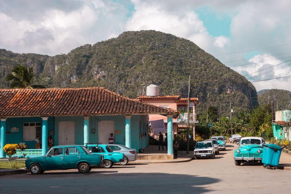 Streets of Vinales in Kuba