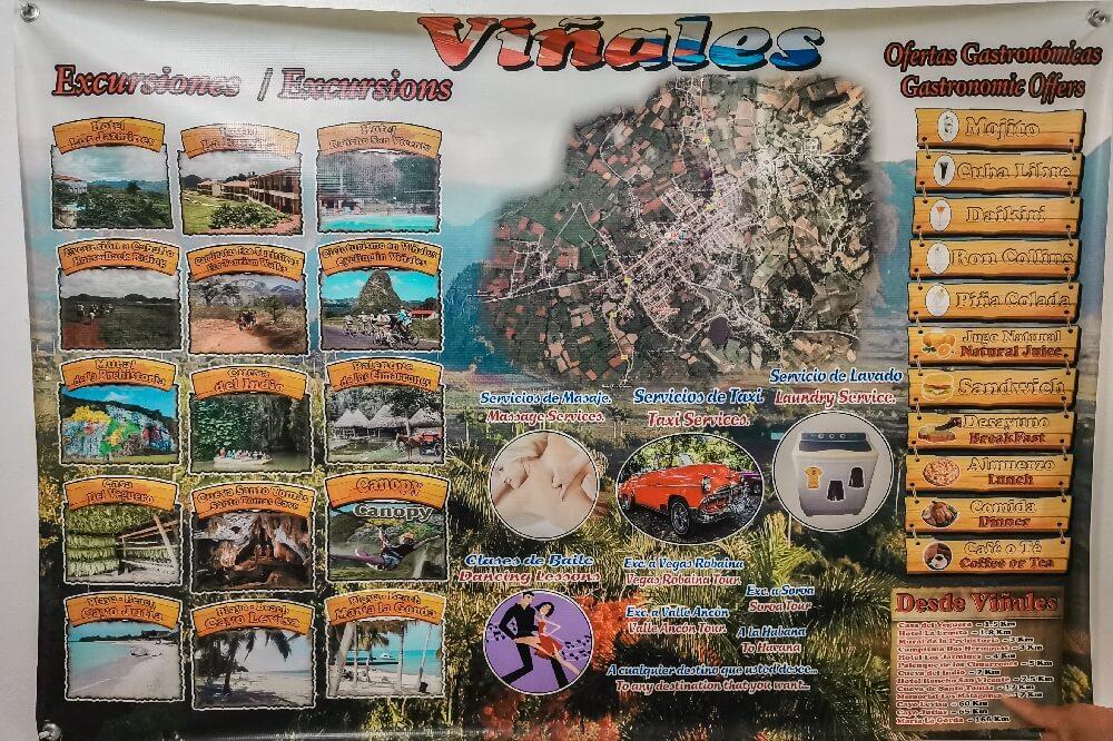 Vinales in Kuba Übersicht