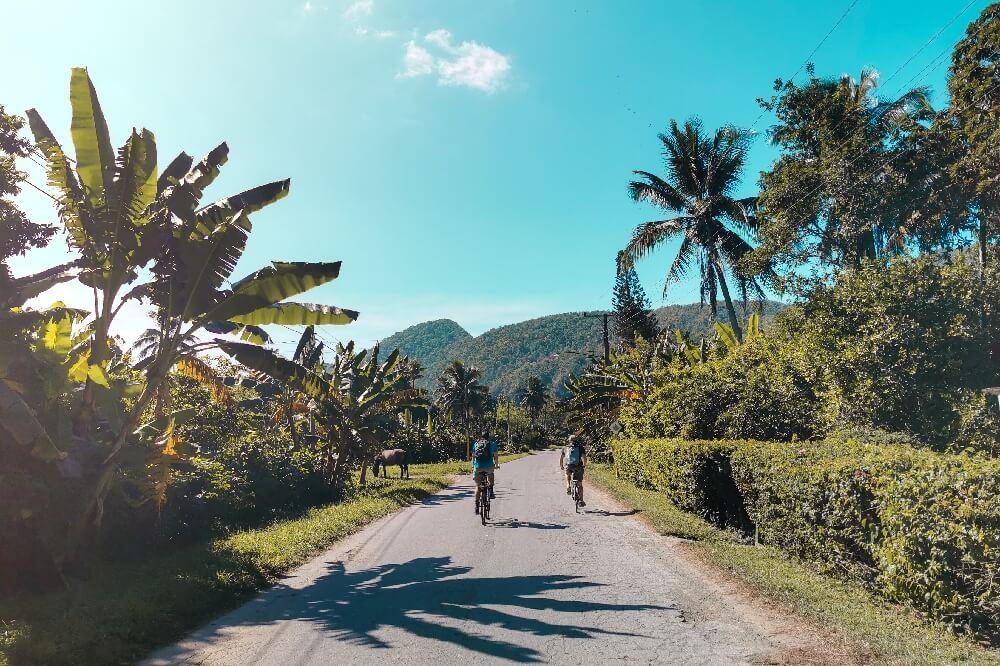 Fahrradtour in Vinales in Kuba