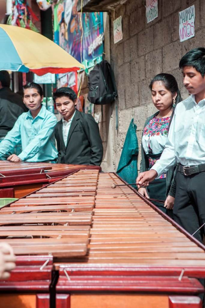 Musiker in Guatemala